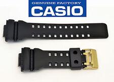 Casio  Watch Band G-Shock BLACK Shiny Strap Rubber GA-110GB GD-100GB GAC-100BR