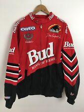 Vintage DALE EARNHARDT JR Budweiser Winston Cup NASCAR Jacket XL
