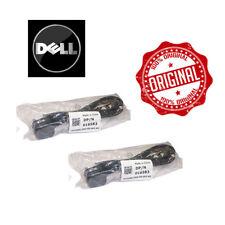 2 x GENUINE Dell DP/N 016583 Original UK Mains Lead Cable Plug Power Cord 2M LOT