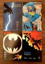 Batman: The Dark Knight Returns #1-4 Complete Set 1st Prints High Grade