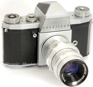 Praktica IV 35mm SLR Camera by Kamera-Werkstätten + Feinnmess Dresden BONOTAR