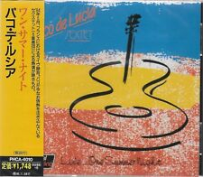 PACO DE LUCIA LIVE..... ONE SUMMER NIGHT - JAPAN 2014 IMPORT CD - BRAND NEW!