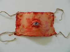 HALLOWEEN HORROR  PROP - Skinned Flesh with Eye Bottle label and Eyeball Stopper