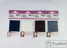 BIRCH - Wool-Nylon Thread - 10 Metres - Choose Your Colour - For Mending/Darning
