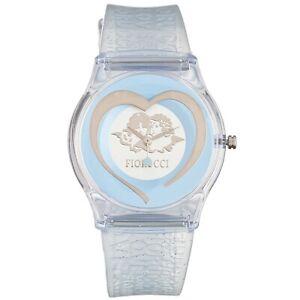 Fiorucci Uhr FR140_3 Kinderuhr Mädchen Blau Herz Children's Watch NEU & OVP