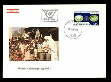 Austria 1981World Food Day FDC #C3200