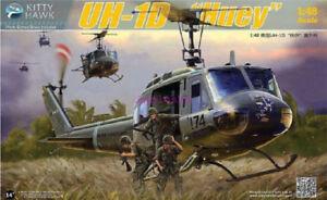 """Kitty Hawk 80154 1/48 UH-1D """"Huey"""" NEW"""