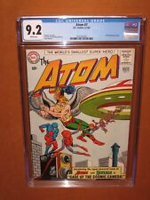 The Atom #7  CGC 9.2 WHITE pages (only 13 higher CGCs EVER) 12 pix Ships INSURED