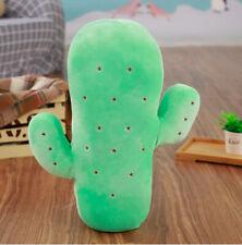 Green Cactus Pillow Cartoon Cactus Plush Plant Pillow Sofa Home Decoration 45cm