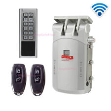 Touch open gate lock Wireless Access Control Remote Smart Lock with Metal Keypad