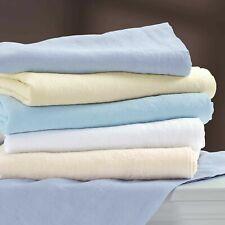 100% Linen Fine European Queen Flat Sheet Pale Green $150 Matching Pillowcases