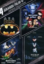 BATMAN - 4 GRANDI FILM  4 DVD  COFANETTO COLLECTION Sigillato