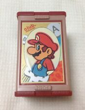 Club Nintendo Hanafuda Cards hanahuda Red mario nes snes