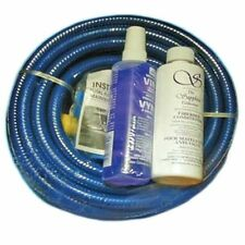 25' DELUXE WATERBED FILL AND DRAIN HOSE KIT W/ 8OZ CHEMICALS /  LARGE PATCH KIT