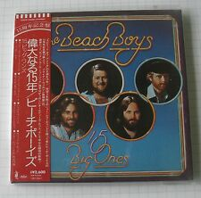 THE BEACH BOYS - 15 Big Ones JAPAN MINI LP CD OBI TOCP-70550