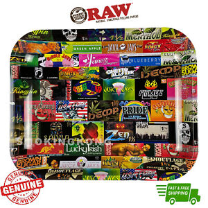 RAW Rolling Tray RAW History Limited Edition Metal Tray with Certificate