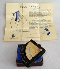 Ancêtre du télémètre le TELE PANTEL vers 1920-30