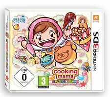 Nintendo 3DS Spiel Cooking Mama - Sweet Shop 2DS kompatibel NEUWARE