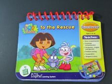 LeapFrog My First LeapPad Dora The Explorer To The Rescue Package,Book & Cart.