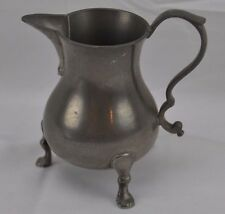 Williamsburg Reproduction Steiff Pewter Footed Creamer CW83-8