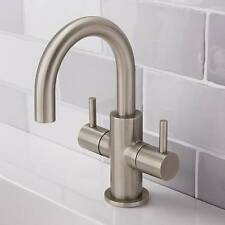 Crosswater Mike Pro Mini Basin Mono Tap Brushed Stainless Steel