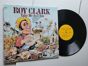 ROY CLARK - Take Me As I Am 1960's COUNTRY COMP (LP)