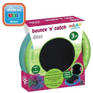 Eduk8 Bounce n Catch Disks 2Pack - Teacher Supplies Educational Toy   Inc' Ball
