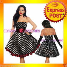 Rockabilly Machine Washable Plus Size Dresses for Women