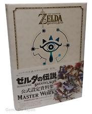 Legend of Zelda Breath of the Wild Master Works 30th Anniversary Art Book Japan