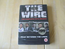 The Wire - Series 5 - Complete (DVD, 2008, 4-Disc Set, Box Set) NEW - SEALED