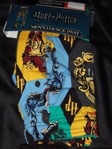 Harry Potter Hogwarts Gryffindor Hufflepuff Slytherin House Pajamas Lounge Pants