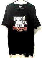 Vintage Grand Theft Auto Chinatown Wars ROCKSTAR T-Shirt Rare Black Men's