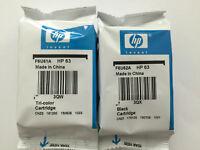 HP 63 Black / Tri-color Original Ink Cartridges for HP 3831 3631 printer