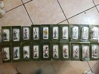 Rarissimo lotto 20 soldatini figurini De Agostini di piombo scala 1/54 da collez