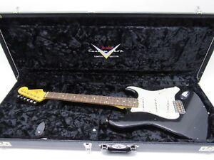 Fender Custom Shop1962 Stratocaster Shattered Journeyman Finish Black Relic
