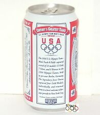 OLYMPICS GREATEST TEAMS 1936 USA GOLD TRACK+FIELD JESSE OWENS BUDWEISER BEER CAN