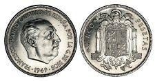 ESPAÑA: 5 pesetas 1949 *50* Francisco Franco S/C