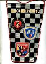 DDR:Tischfahne:Grosser Preis des ADMV-Sachsenring.27 cm