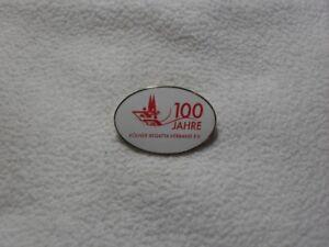 Köln Rowing Federation 100years anniv. / Kölner Regatta Verband 100 Jahre pin