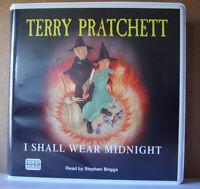 I Shall Wear Midnight: by Terry Pratchett - Unabridged Audiobook - 10CDs