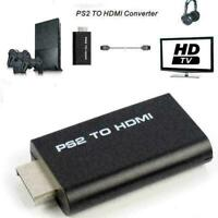 PS2 to HDMI Video Converter Adapter with 3.5mm Audio Output C2M1 L9B8 Monit L0Z1