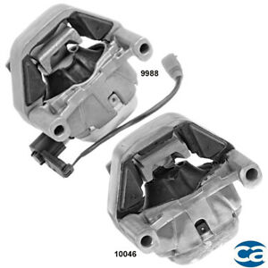 Front Left & Right Engine Motor Mounts 2Pcs Set For 12-18 Audi A6 2.0L FWD