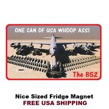 439 - United States B52 Whoop Ass Refrigerator Toolbox Magnet