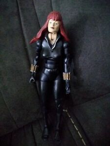 "Black Widow Marvel Legends Series 8 loose 6"" Avengers SHIELD Agent Romanov"
