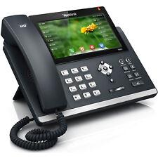 YEALINK SIP-T48G GIGABIT IP BUSINESS TELEPHONE 6-LINE GOOD CONDITION