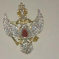 brooch silver  Faberge design  fine Imperial Russian