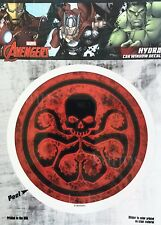 Marvel Avengers Hydra Car Window Decal Sticker Auto - Officially Licenesed