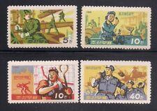 Korea...  1966   Sc # 735-38   MNH   OG  (3-3383)