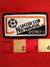 Newark New Jersey Soccer Club District 3 Patch S79D