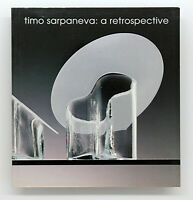 Rare Timo Sarpaneva Book 50s Mid Century Modern Finnish Glass Design Aalto/Eames
